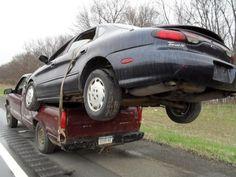 Vervoer eens een Mazda 626 in een bestelbus - Autoblog.