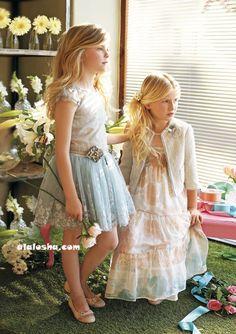 ALALOSHA: VOGUE ENFANTS: Miss Blumarine SS'14 Girls Ad Campaign