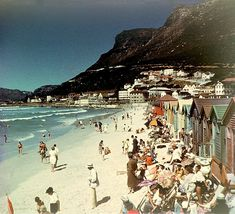 Muizenberg, Cape Town , South Africa, in I want a photo like this Places To Travel, Places To Visit, Cape Town South Africa, Out Of Africa, Safari, African History, Africa Travel, Countries Of The World, Old Photos