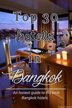 Where to stay next time you visit Bangkok?. Check my guide to the best located Hotels in Bangkok. An ultimate guide. with my personal top 30 picks and recommendations. #Bangkok #Thailand #Top10 #Hotels