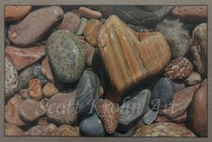Finding the One - Colored Pencil Artwork by Scott Krohn Colored Pencil Artwork, Pencil Painting, Colored Pencils, Artist Names, Prismacolor, Magazine, Graphite, Agate, Art Gallery