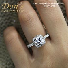 "There is still time this year to ""Pop"" the question...Don's Jewelry & Design has ""the ring she will Love!"""