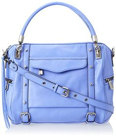 Rebecca Minkoff Cupid Satchel Top Handle Bag Twilight Sky �