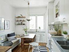 Küchentisch und Stühle - Wie Sie den Essraum und die Küche gestalten