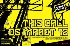 DS MARET 12 by DLVASTF on @creativemarket