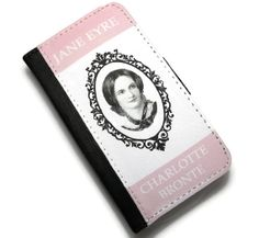 Jane Eyre, Charlotte Bronte Book Cover iPhone 5, 5S Case, Pink Case for iPhone, Phone Accessories