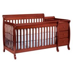 Beau DaVinci Kalani 4 In 1 Convertible Crib And Changer Combo   Cherry   Nursery  Furniture Sets. Changing TablesConvertible ...