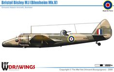 Bristol Bisley B Mk.I Bristol Blenheim, Fighting Plane, War Thunder, Vintage Airplanes, Ww2 Aircraft, Military Equipment, Royal Air Force, Motor Car, World War Ii