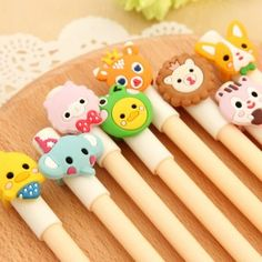 Bolígrafos Cute Animals
