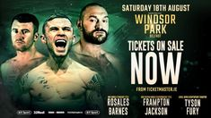 Watch Carl Frampton vs Luke Jackson Live Streaming free Boxing online at Windsor Park in Belfast, Northern Ireland.  Frampton vs Jackson Boxing fight will be kick of Saturday 18 August 2018, Time 10pm (BST).  Welcome to watch Carl Frampton vs Luke Jackson Live Stream online on your pc/laptop, mac, ipad.