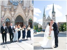photo by HeatherCookElliott.com, dress by Robert Bullock,  flowers by Impressions by Esther Fleming, Church of the Gesu