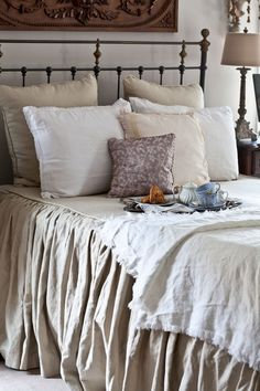 Get the look of our bedroom from Cedar Hill Farmhouse.