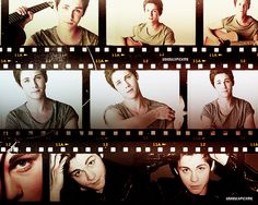 Logan Lerman. WHO TOLD YOU TO.LOOK SO GOOD LOOKING??! AHHH. WHO IS RESPONSIBLE FOR THIS?