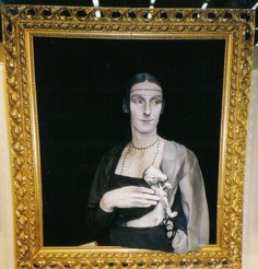 Channing performance - da Vinci - 'Lady with Ermine'.