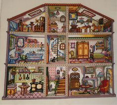 Doll house Cross Stitch