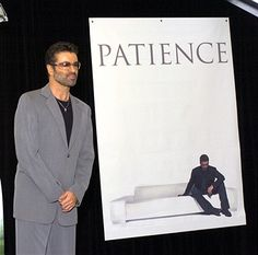 George Michael during George Michael In-Store Appearance for New CD 'Patience' at Virgin Megastore in Los Angeles, California, United States.
