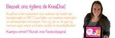 Win kaartjes voor de KreaDoe 2016! Bezoek onze stand van 2-6 november in de jaarbeurs Utrecht! Deelnemen aan de winactie kan via onze Facebookpagina