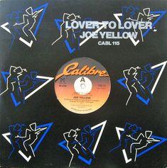 Joe Yellow- Lover To Lover (Vinyl,12'') 1983 Baby Records, Italo Disco, Lovers, Yellow, Music, Musica, Musik, Muziek, Gold