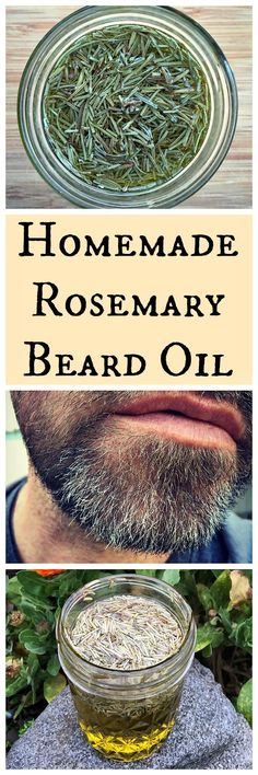 Make this awesome herbal beard oil from 101 Easy Homemade Products for your Skin, Heath & Home book by Jan Berry!