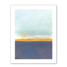 """Art Wall """"Big Sky Country I"""" by Jan Weiss Graphic Art on Canvas & Reviews 