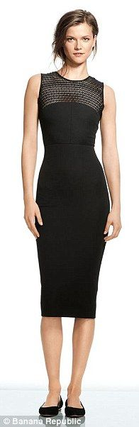 Roland Mouret's collection for Banana Republic