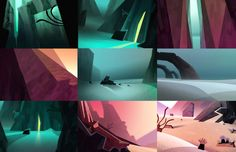 PEDROVERGANI Environment Concept Art, Environment Design, Color Script, Landscape Background, Game Background, Game Concept Art, Digital Paintings, Matte Painting, Visual Development