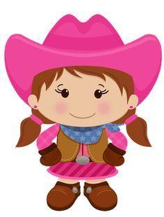 cowgirl baby vector .png - Buscar con Google