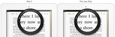 """Very insightful: Why the iPad is just called """"iPad""""? No 3, no HD."""