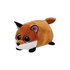 Amazon.com: Finley Fox - Teeny Tys 4 inch - Stuffed Animal by Ty (42135): Toys & Games