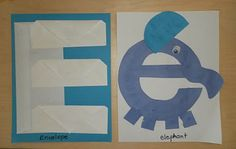 E for envelopes and elephant  FULL of letter of the week activities!!!! check out