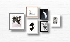 The Monochromatic Six on Artfully Walls