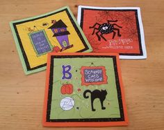 Check out this item in my Etsy shop https://www.etsy.com/listing/251465769/halloween-mug-rugs-set-of-3-snack-mats