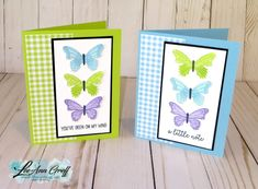 The Butterfly Duet punch is back in stock! Fun Fold Cards, Folded Cards, Cute Cards, Vintage Birthday Cards, Handmade Birthday Cards, Pop Up Card, Card Sentiments, Mothers Day Cards, Butterfly Cards