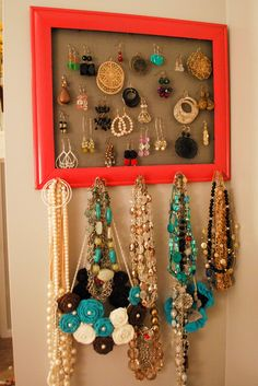 lovely jewelry organization