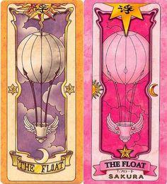 浮 = The Float = El Flote Descripción:Flotar puede hacer que las cosas floten. No es una carta agresiva y sus poderes no son extensos sin embargo sirve de ayuda cuando la carta de The Fly (El vuelo) es muy ruidosa para llegar a otro lado.