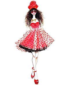🍎🏮❤Still in the CNY festive mood💃🏻Happy weekend!💋 _____________________________________________________ #sunnygu #chinesenewyear #lunarnewyear #happycny #happychinesenewyear #love #festival #fashion #fashionillustration #fashionillustrator #fashionista #red #girl #beauty #roses #valentines #valentinesday #sharelove #flowers #flowerlover #fashionillustrated #flowermood #flowerpower #roosteryear #🐣 #🐔#betseyjohnson @xobetseyjohnson