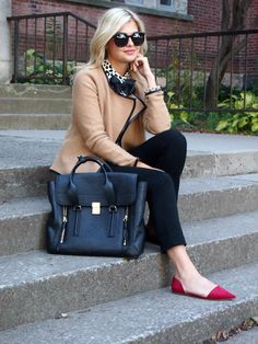 With a Bow on Top - Office Outfits Brown Jacket, Look Chic, Work Attire, Work Fashion, Passion For Fashion, Everyday Fashion, Formal, Autumn Winter Fashion, Style Me