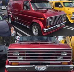 Custom long nose Ford van...vk