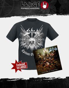 """Aanstaande vrijdag komt het nieuwe album """"Epitome Of Torture"""" van Sodom uit. Exclusief bij Large een T-shirt (M, L, XL) bij aankoop van deze limited Edition CD."""