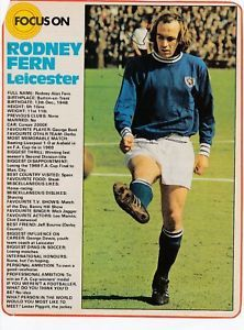 Rodney Fern Leicester City A Very Good Prominent Signature that looks better than the Scan suggests. Very sadly Rodney passed away in We include a free player glossary if available. Football Shirts, Football Players, Burton On Trent, Leicester, Liverpool, Derby, How To Memorize Things, Profile