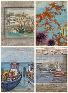 Ναυτικά Θέματα Nautical Theme, Hand Painted, France, Interiors, Collections, House, Painting, Furniture, Ideas