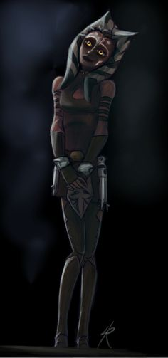 Dark Ahsoka by Raikoh-illust.deviantart.com on @DeviantArt