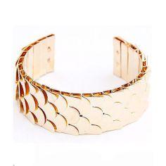 """Fish Scale"" bracelet"