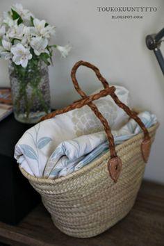Toukokuun Tyttö - My Villa May Decor, Wicker Laundry Basket, Ikea, Decorative Wicker Basket, Basket, Villa, Wicker