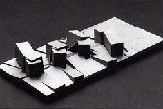 DE, Frankfurt, Rebstockpark. Architect Peter Eisenman, 1991.