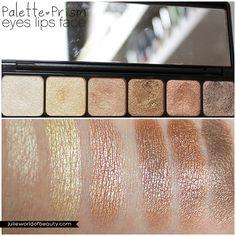 """Palette prisme ombres à paupières """"Nude"""" (#83322) http://www.eyeslipsface.fr/produit-beaute/palette-prisme-ombres-a-paupieres"""