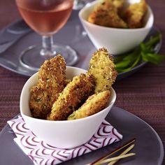 Hähnchenscheiben in Estragon-Parmesan-Kruste Rezept
