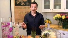 How to Create Drama with Easy Floral Ideas with Nico De Swert | Pottery Barn, via YouTube.