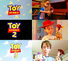 Toy Story (1995) | Toy Story 2 (1999) | Toy Story 3 (2010) — Andy & Woody