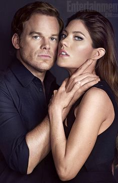 Dexter and Deb Morgan (Michael C. Hall and Jennifer Carpenter)
